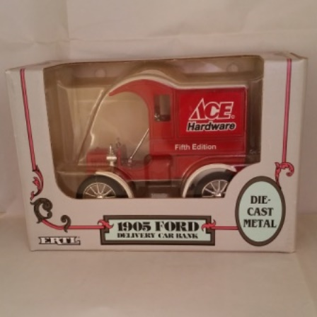 Ertl, Ace hardware, Ford, 1905, Delivery, Bank