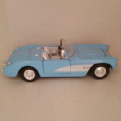 Chevy, Corvette, 1957, Diecast
