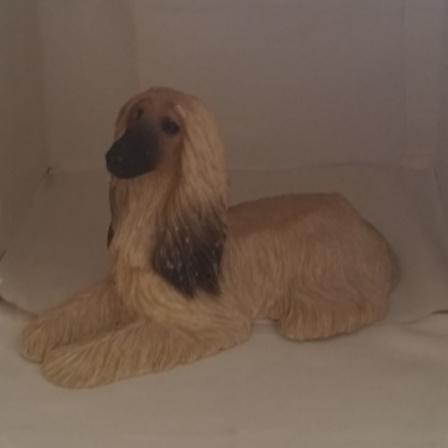 Afghan Hound, Sandicast, Vintage