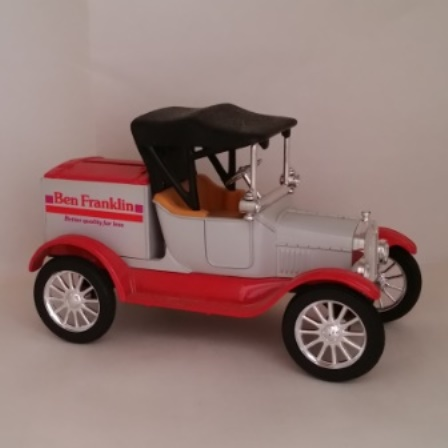 Ertl, Ford, Model T, Runabout, Ben Franklin