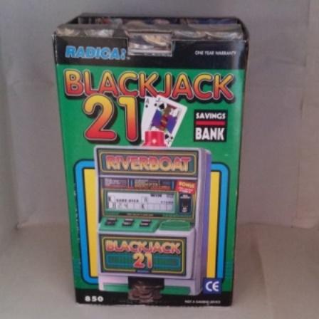 Blackjack, Riverboat, 21, Automatic Jackpot, Savings Bank