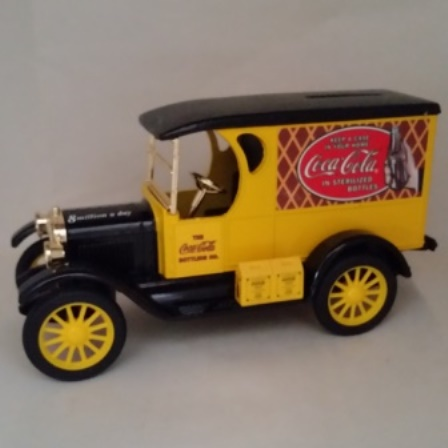 Ertl, Coca Cola, 1923 GM Delivery Truck, Bank