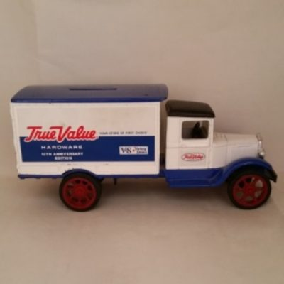 Ertl, Hawkeye, True Value, Truck, Bank