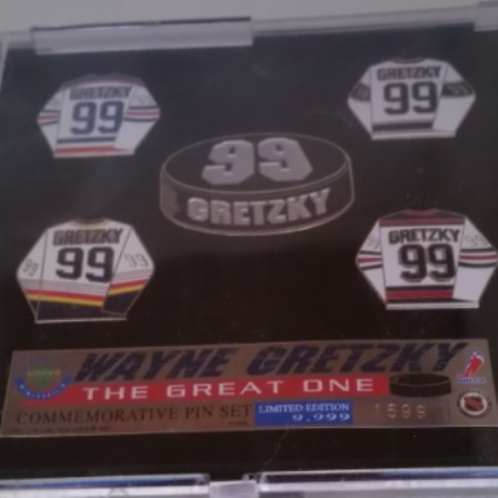 Wayne Gretzky, Pin Set, Commemorative