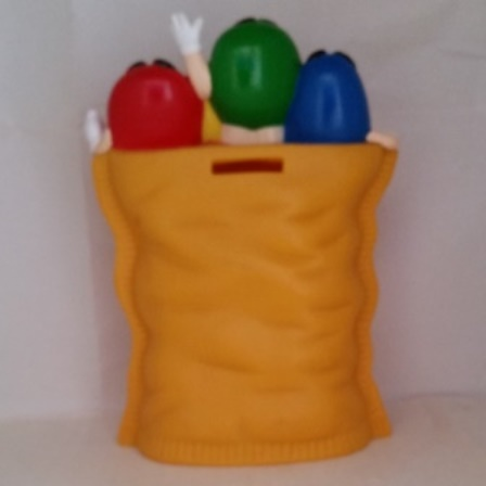 M&M, Coin Bank, Yellow