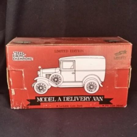 Liberty Classic, Model A, Van, Bank, Box