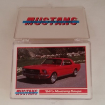 Ford, Mustang, Collector, Cards