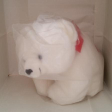 Plush, Polar Bear, Coin Bank, Nicki