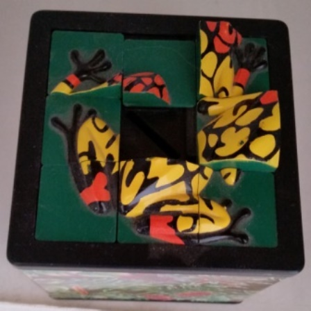 Frog, Puzzle, Coin Bank