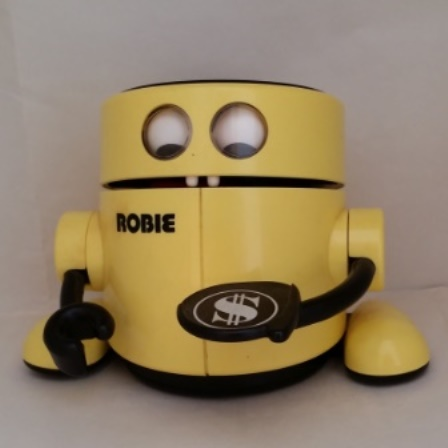 Radio Shack, Robie, Money Bank, Robotic