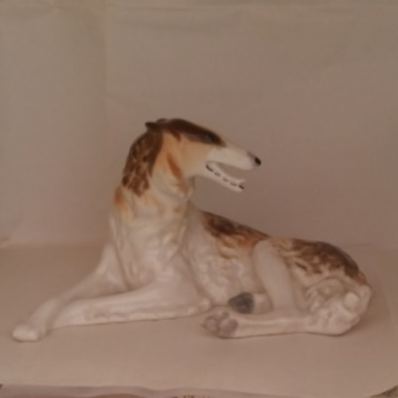 Borzoi, Porcelain, Vintage, Figurine