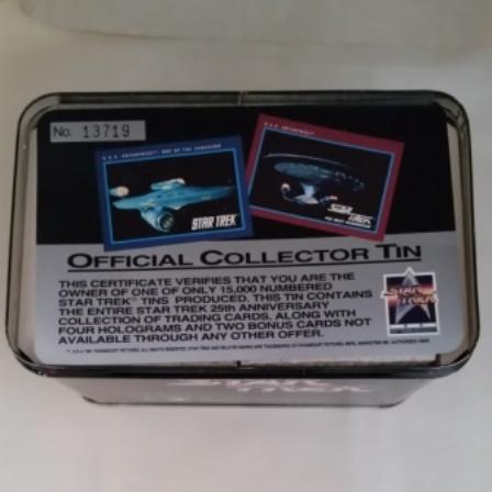 Star Trek, Trading Cards, 1991, 25th Anniversary