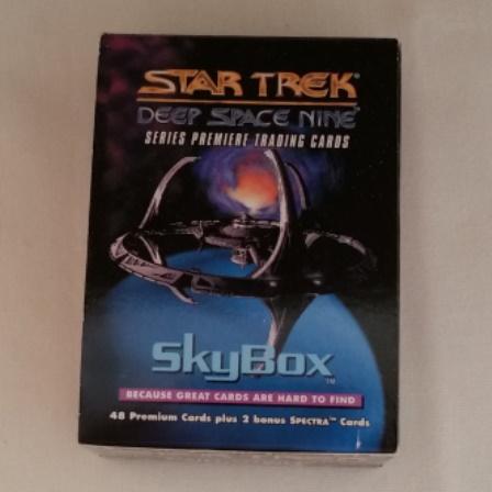 Star Trek, Deep Space Nine, Collector Cards, Skybox