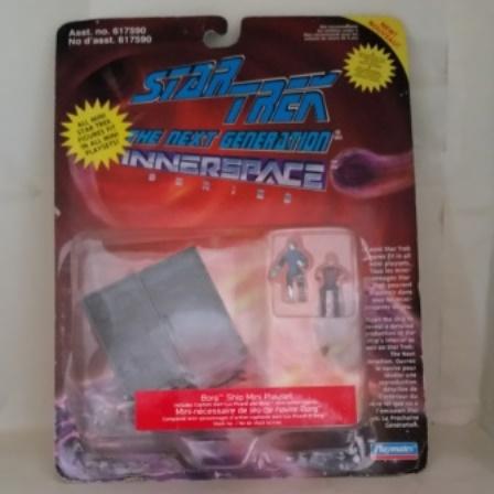 Star Trek, Innerspace, Playset, Borg Ship