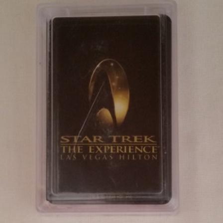 Star Trek, Las Vegas, Hilton, Cards, Deck