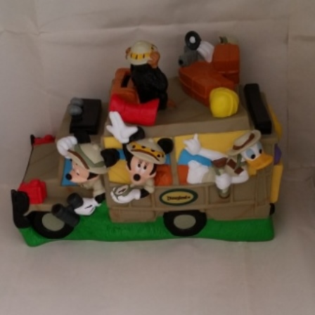 Walt Disney, Safari Wagon, Mickey and Friends