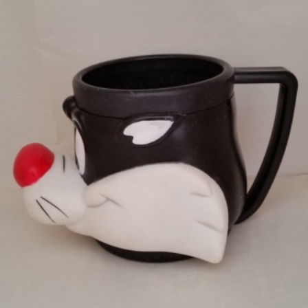 Warner Bros., Sylvester, Cat, Coffee Mug