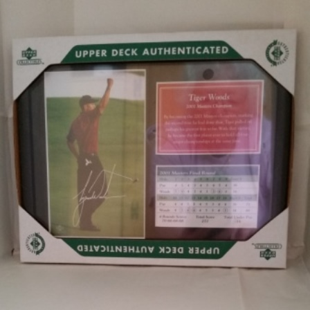 Tiger Woods, Masters, Photo, Score Card