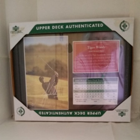 Tiger Woods, British Open, Photo, Score Card