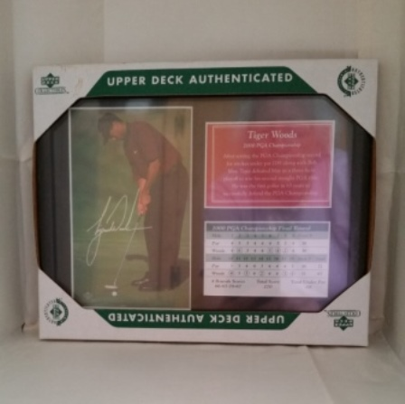 Tiger Woods, PGA, Photo, Score Card