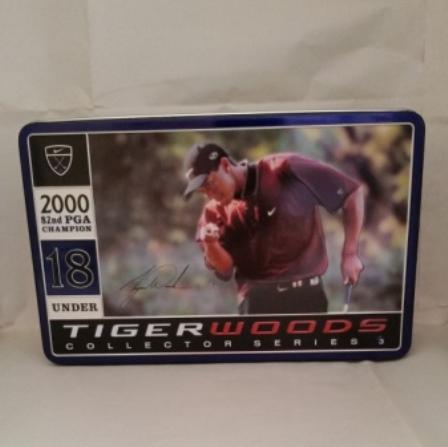 Tiger Woods, PGA, Golf Balls, Tin