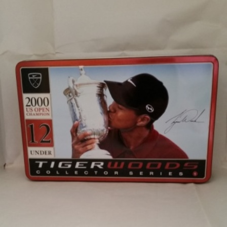 Tiger Woods, US Open, Golf Balls, Tin