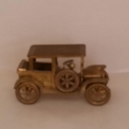 Tiny, Brass, Car