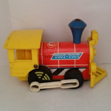 Fisher Price, Toot Toot Train, 1964