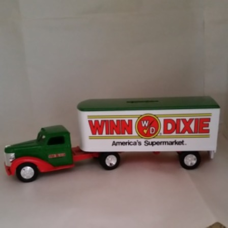 Ertl, Diamond T, Truck, Winn Dixie, Bank