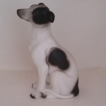Porcelain, Whippet, Figurine