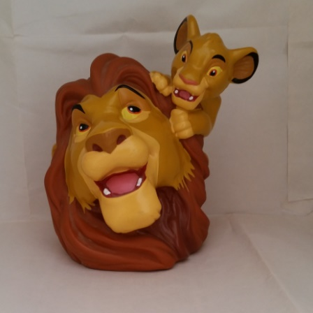 Walt Disney, Money Bank, Lion King, Simba, Mufasa