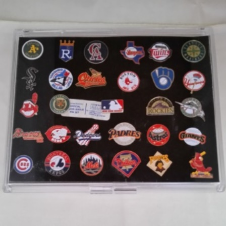 Baseball, Pins, Official Major League