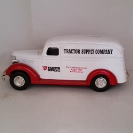 Ertl, diecast, Chev, Delivery Van, Bank