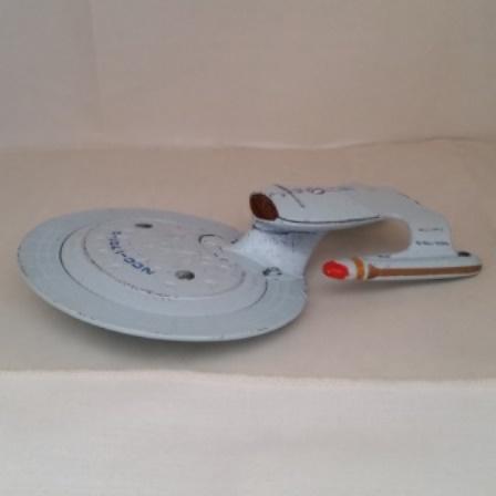 Star Trek, Enterprise, Diecast, Two part