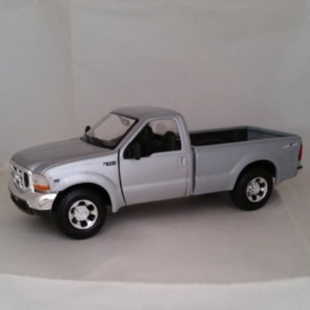 Ford, Diecast, F350, Super Duty, Maisto