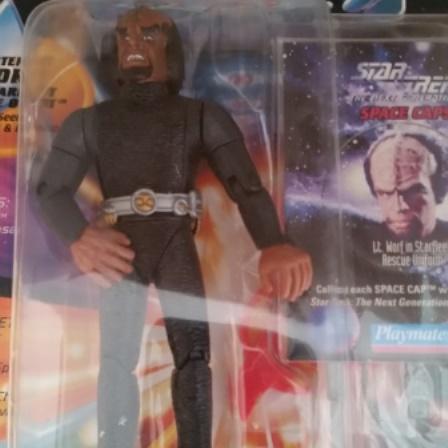 Star Trek, Lieutenant Worf, Rescue Outfit
