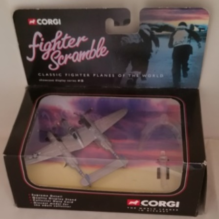 Corgi, Fighter Scramble, P38, Lightening, Little Eva