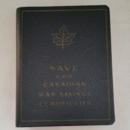 Gillette, Savings Certificates, War, Canadian, Bank