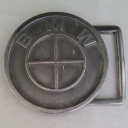 BMW, Belt Buckle, Pewter