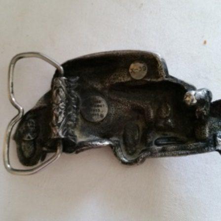 Ford, Coupe, Belt Buckle, Bergamot