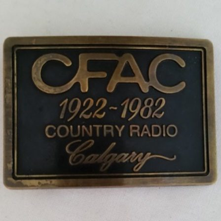 CFAC, Belt Buckle, Diecast