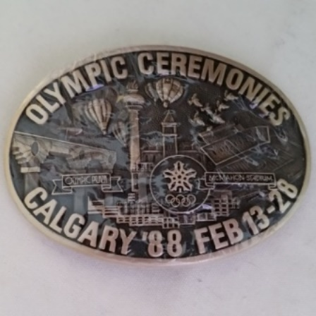Olympic, Ceremonies, Belt Buckle, Limited Edition