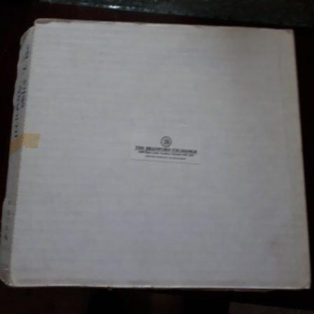 Walt Disney, Plate, Shipping Box