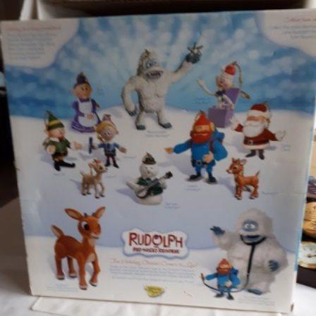 Rudolph, Reindeer, Clip-Ons