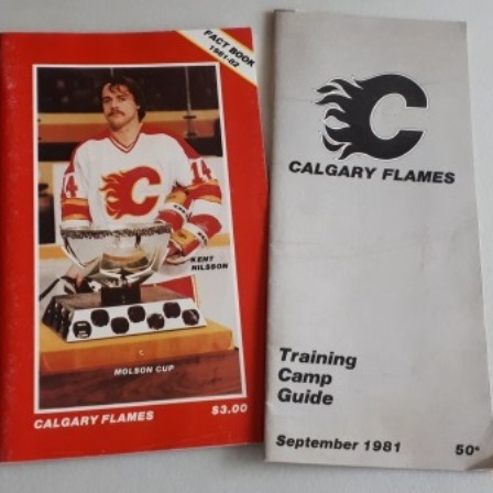 Calgary Flames, Fact Book, Camp Guide