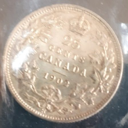 Silver, Quarter, 1902H