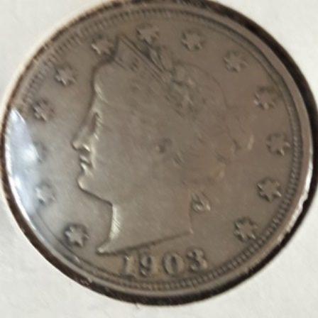Liberty, Five cent, 1903, US