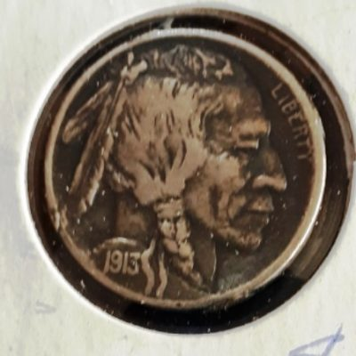 Buffalo, Nickel, 1913D, US