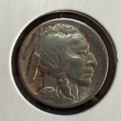 US, 5 cent, 1916