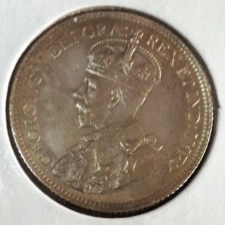 Silver, Quarter, 1936, Canadian